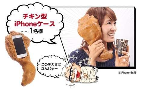 Drumstick-Shaped Prizes - These Promotional KFC Chicken Drumstick Products Can Be Won Via Twitter