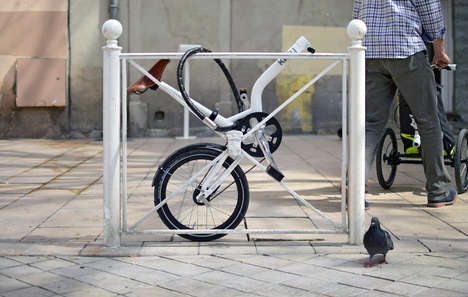 Urban Transport-Ready Bikes - The Kiffy Allows One to Bike in the City and Shop Too