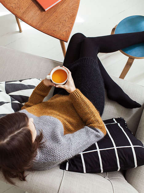 Serene Sunday Campaigns - This Marimekko Campaign Captures Lazy Days at Home