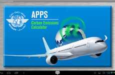 Plane Ticket Pollution Apps - The Carbon Emissions Calculator Shows Air Travelers Their CO2 Levels