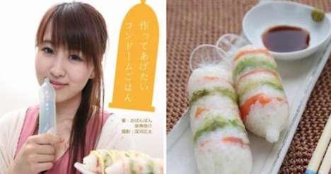 Bizarre Condom Cookbooks - Manga Writer Kyosuke Kagami Promotes Condom Usage in Japan