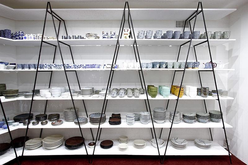 Flexible Laddered Shelves