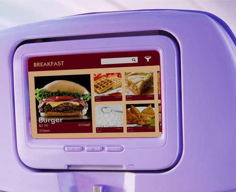 3D-Printed Airplane Meals