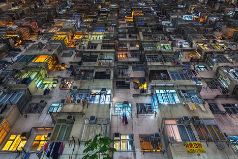 Condensed Urban Photography - Peter Stewart Captures Hong Kong and its Dense Population