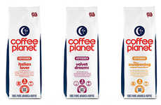 Moonlit Coffee Branding - Coffee Planet Receives a Makeover by Koncept Design