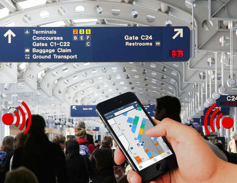 Shareable Air Travel Beacons - The Common-Use Beacon Registry Lets Airports Share Beacon Data