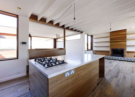 Weathered Beach Homes - The Clovelly House Gains Character with Each Year