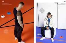 Modern Sportswear Editorials - FHM UK's New Terrace Wear Story Boasts Athletic Pieces