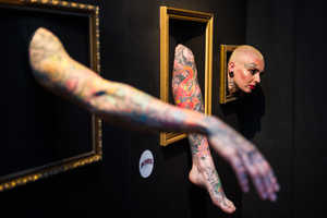 The World's First Human Tattoo Gallery Featured Inked Human Exhibits