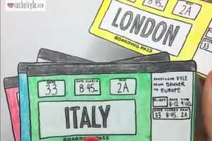Rachel Ryle's Quirky Travel Instagram Posts are Stop Motion Videos