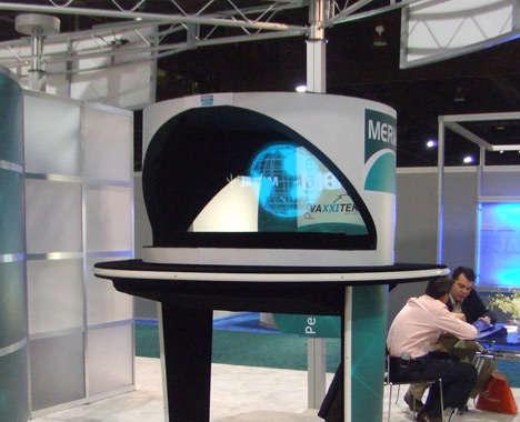 Holographic Tech Kiosks