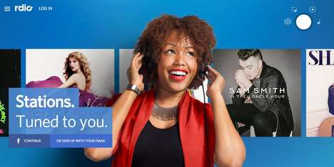 Revolutionized Streaming Apps - Rdio's Streaming Service Has Undergone a Complete Redesign