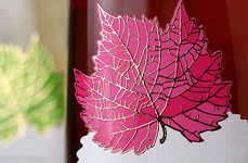 Complementary Wine Branding - This Design by 43Oz Studio Works with an Elaborate Bottle