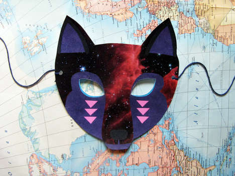 19 DIY Mask Disguises - From Galactic Animal Accessories to DIY Steampunk Designs