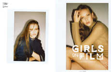 Raw Polaroid Editorials - The Ones 2 Watch Girls on Film Fashion Story is Candid