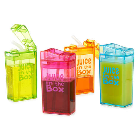 Sustainable Juice Containers - These Reusable Juice Boxes Help Reduce the Need for Discarded Waste