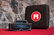 Augmented Reality Glasses - Meta 1 Overlays the Natural World with Virtual Information