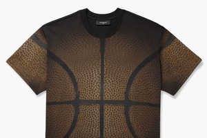 The Givenchy Basketball Printed T-Shirt Offers a Couture Sports Aesthetic