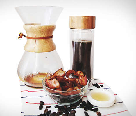 Bacon-Flavored Coffee - The Maple Bacon Deluxe Smoked Coffee Adds a Salty Touch to Your Caffeine