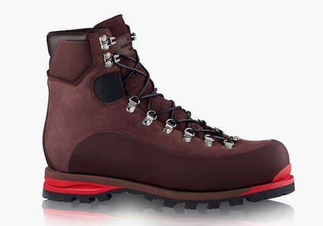 Haute Hiking Boots - The Louis Vuitton Alpinist Mountain Ankle Boot Offers an Air of Elegance