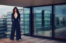 Sensual Urban Fashion - Maude Le Fort Stars in the Latest Issue of French Revue de Modes