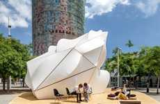 Organically Sculptural Pavilions - Endesa World Fab Condenser is Conceived With Modern Technology