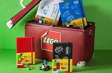 Moleskin Joins with LEGO to Create a Line of Nostalgic Notebooks