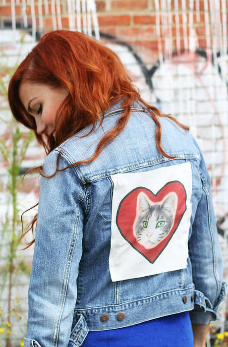 DIY Canvas-Patched Jackets - This Tutorial is Perfect for Updating an Out-of-Date Jean Jacket