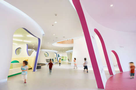 Vegetation-Inspired Education Centers - The 'Family Box' in Beijing is a Creative Place for Kids
