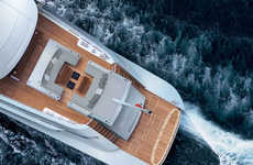 Fuel-Efficient Yachts - The Silver Fast from Silver Yachts is Eco-Friendly