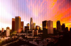 Time-Lapse Skyline Photography - Michael Marker-Moore Captures Breathtaking City Sunsets