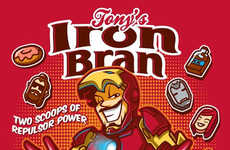 Superhero Breakfast Cereals