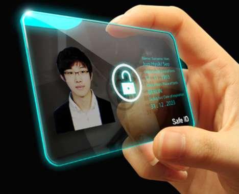 Thumb-Unlocked ID Cards