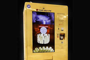 This Luxe Vending Machine Trades Cash for Pieces of Gold and Silver
