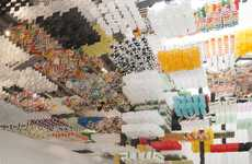 Immersive Paper Sculptures - This Art Installation is Made Up of Countless Paper Kites