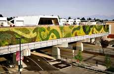Gargantuan Green Walls - Green Over Grey's 'Mountains & Trees, Waves & Pebbles' is in B.C.