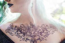 Temporary Fantasy Tattoos