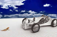 Reptilian Desert Vehicles - The Palm Valley Buggy Has Been Adapted to Deal with Outback Terrain