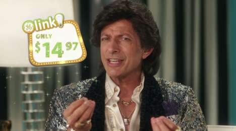 Outrageous Lighting Ads - This Cheesy Infomercial-Style Lighting Commercial Stars Jeff Goldblum