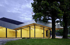Frei + Saarinen Rebuild a Community Hall in Switzerland