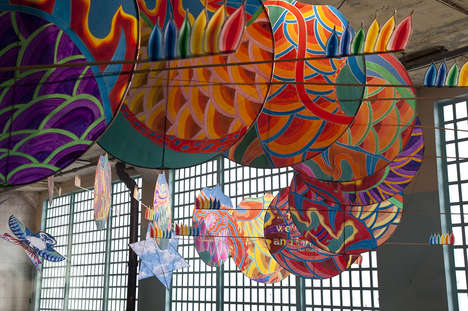 Mixed Media Prison Installations - Ai Weiwei Creates '@Large' at Alcatraz Prison
