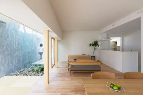 Windowless Wall Abodes - The Kusatsu Home by ALTS Design Office is Modern
