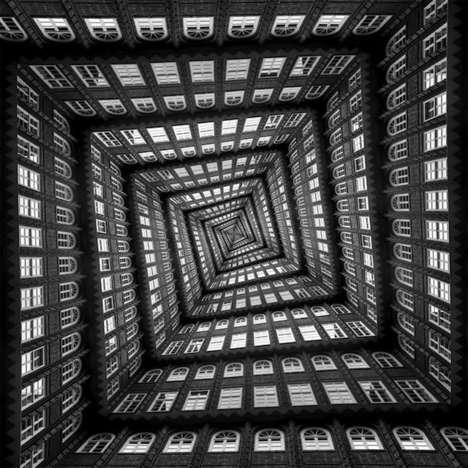 Hypnotic Architectural Photography - Markus Studtmann Channels Hitchcock's 'Vertigo' in His Work