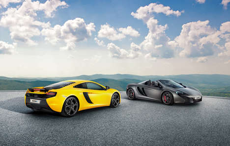 Region-Specific Autos - The 625c McLaren is Geared Towards the Asian Market