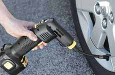 Automatic Cordless Tire Inflators - This Tool Simplifies the Process of Fixing Punctures