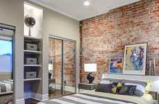 Realistic Brick Wallpaper - This Brick Effect Wallpaper Makes Over Rooms to Look More Industrial
