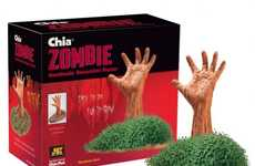 Zombie Chia Pets - Joseph Enterprises Lets People Grow the Undead for Halloween
