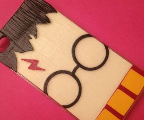 Wizard Smartphone Protectors - The Harry Potter iPhone Case is Made for Die-Hard Fans