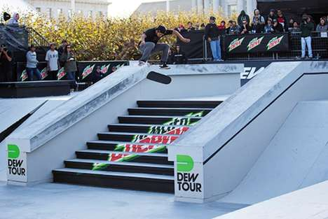Virtual Skateboarding Simulators - Mountain Dew Lets People Try Out Virtual Reality Digital Skating