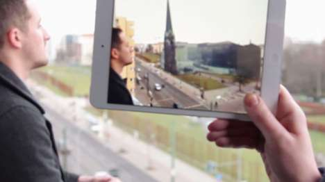 Augmented History Apps - The Timetraveler App Lets You See What the Berlin Wall Used To Be Like